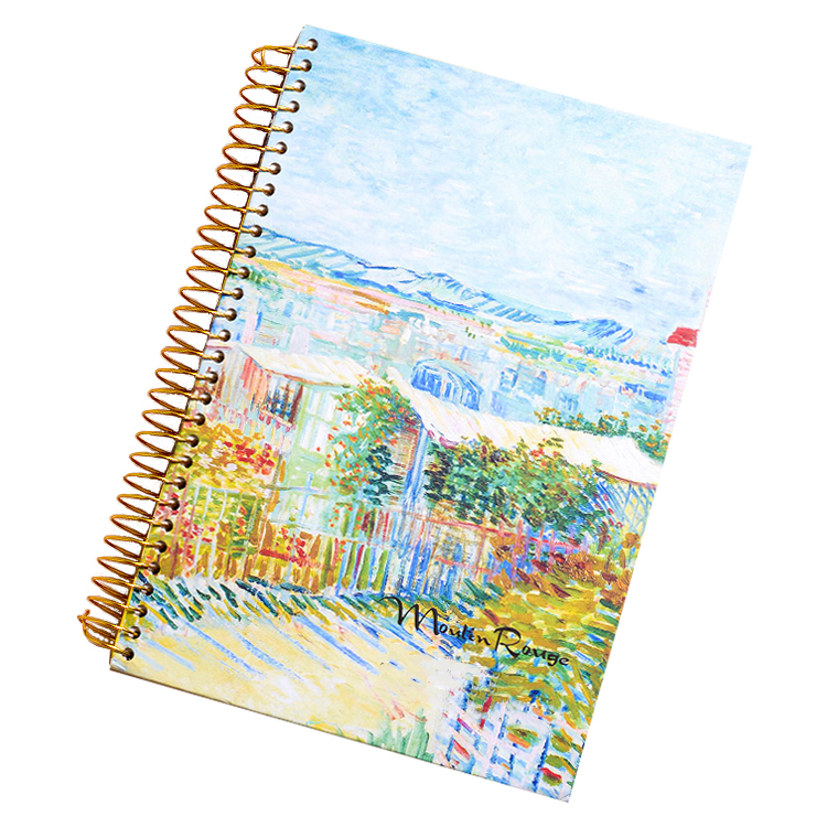 Spiral Bound Drawing Book School Stationary Items Student Note book A4 A5 Paper Spiral Notebooks