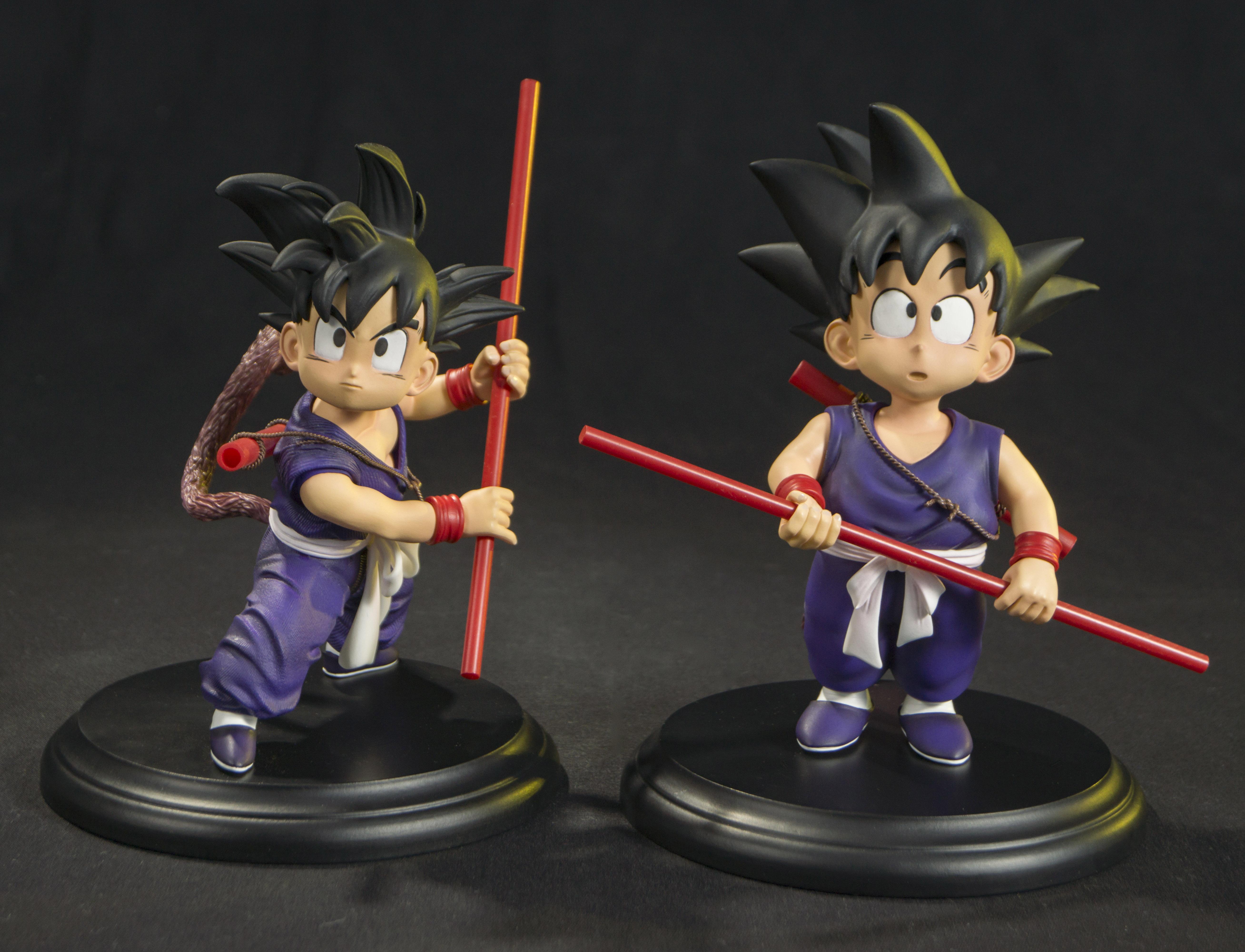 Wholesale Customized Dragon Ball Diorama Goku and Bulma Resin Sculpture For Decoration