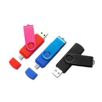 Classic Swivel Dual Port OTG 2.0 3.0 8GB 16GB 32GB 64GB USB Flash Drives for Android - USBSKY   USBSKY.NET