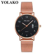 Женские часы, золотые часы, Relojes Para Mujer, роскошные женские повседневные кварцевые часы с силиконовым ремешком, новые часы с ремешком, аналого...(Китай)