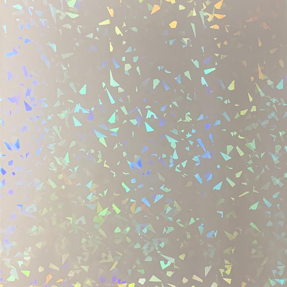 Холодная голографическая ламинированная виниловая пленка, самоклеящаяся наклейка в листах и рулонах