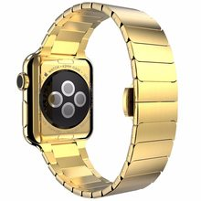 Ремешок из нержавеющей стали для Apple Watch band 5 4 3 42 мм 44 мм 40 мм iwatch series 5 4 3 2 band 42 мм/38 мм металлический браслет-бабочка(Китай)