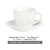 ST1328/cup and saucer white