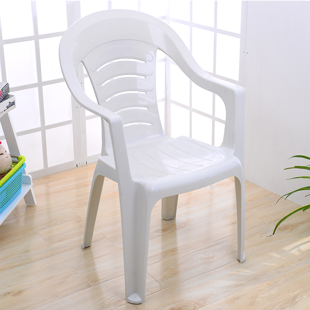 Cheap Modern Kitchen Set White Plastic Dining Room Chair With ...