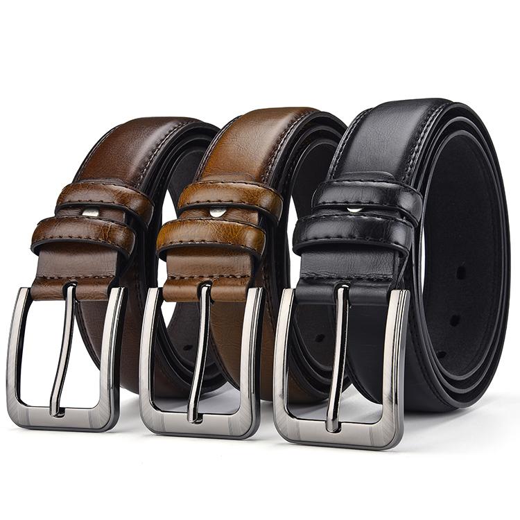 New arrival genuine leather belts men business casual designer belt for man