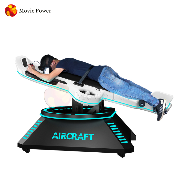 Virtual Reality Game Center Full Motion Flight Simulator VR Gaming Machine Equipment