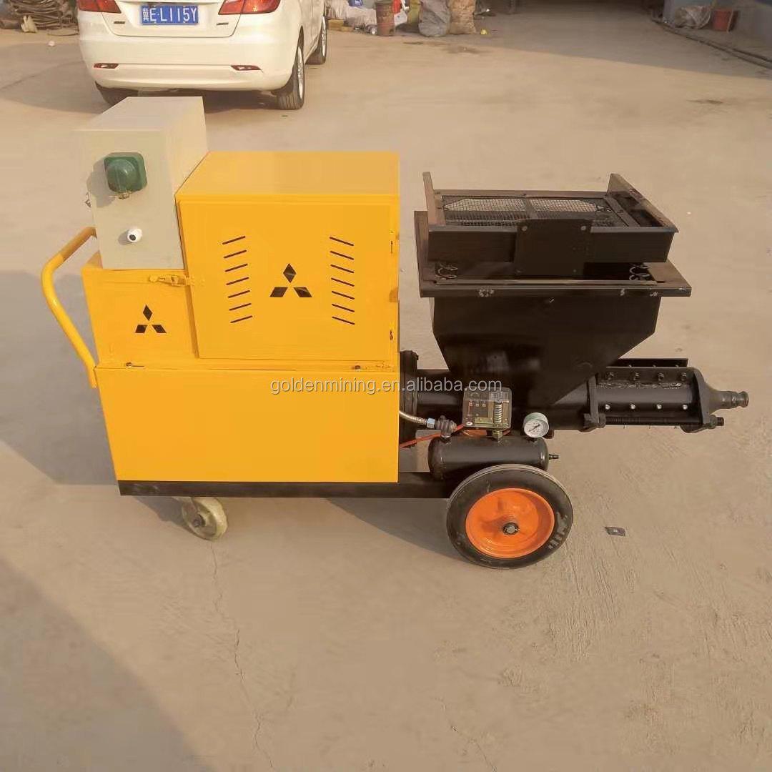 Распылитель цемента с дизельным двигателем распылитель штукатурная машина в продаже