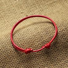 Кожаный браслет для пар, черный, красный браслет для женщин и мужчин, модные ювелирные изделия, браслеты для друзей, подарок, оптовая продажа(Китай)