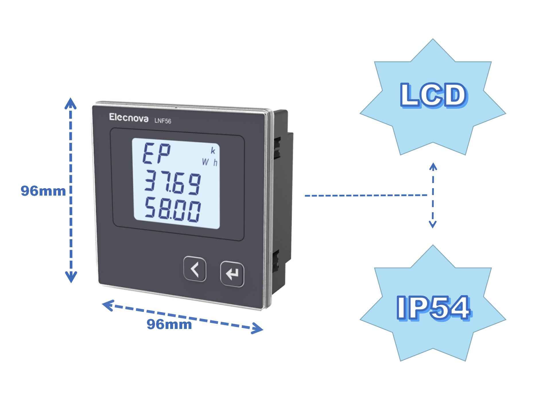LNF22 power equipment metering ac millivoltmeter