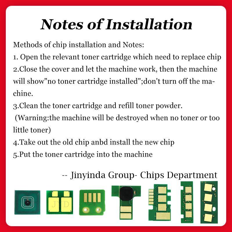 New W2210A W2211A W2212A W2213A 207A Cartridge Chip Reset Compatible for M255dw MFP M283fdw M283cdw M282 M255 M283 Toner Chip