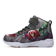 Детские кроссовки с высокой нескользящей подошвой, Баскетбольная обувь с мягкой толстой подошвой, спортивная обувь для детей, уличный трен...(Китай)