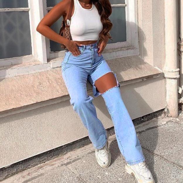 Patchwork Vaqueros Para Mujeres Bleached Vintage Pierna Ancha Cintura Alta Jeans Trasero Levantar Denim Pantalones Plus Tamano Buy Jeans Mujer 2019 Jeans Rasgados Mujer Pantalones Vaqueros Mujer Product On Alibaba Com