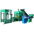 Fully Automatic Cement Hollow Interlock Paving Blocks Machine QTJ4-18 Hydraulic Concrete Block Making Machine For Sale