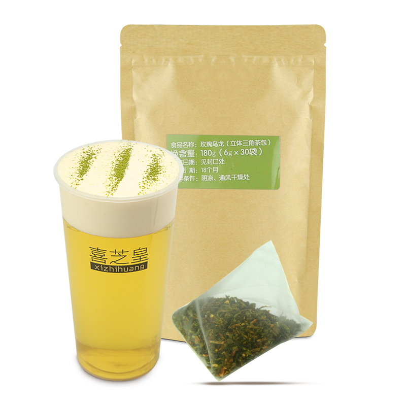 Rose oolong tea bag can provide OEM high quality drink triangle tea bag - 4uTea | 4uTea.com