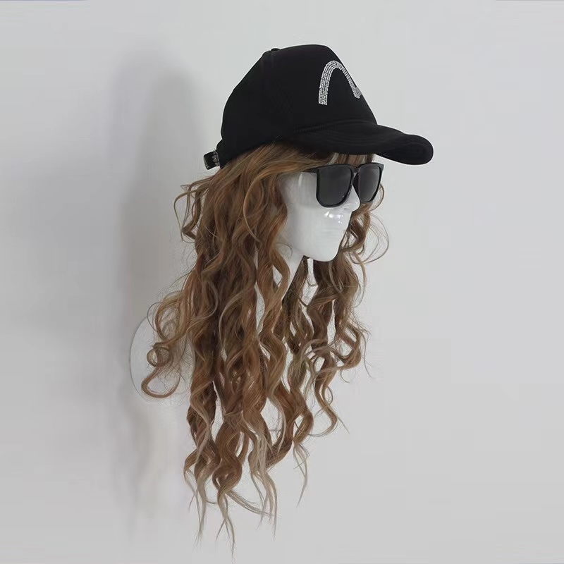 Wholesale Beautiful White gloss Wall Mount Mannequin Heads For Wigs