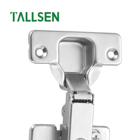 Hinges Tallsen TH33 Cold Rolled Steel Kitchen Door 3D Adjustable Heavy Duty Soft Closing Cabinet Hinges