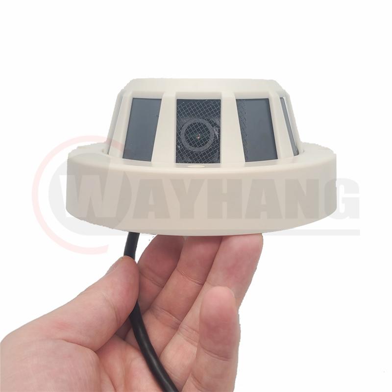 4G 1080P Hidden Camera Smoke Detector Wireless WiFi Camera With Sim Card Slot Support Max 128GB TF Card