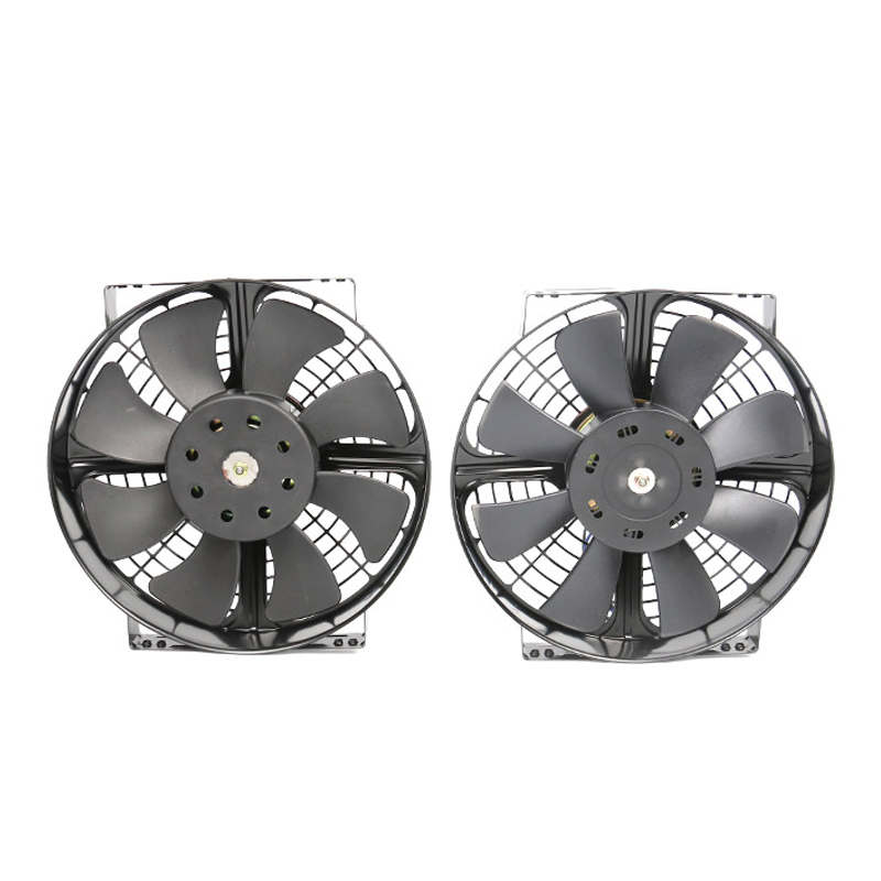 factory direct sale wholesale price plastic frame car cooling electronic fan 80w 10 inch