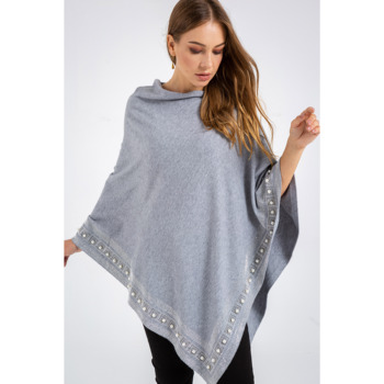 Custom Women Poncho Sweater Knitted Cloak for Women Sweaters Cable Knit Sweaters Cardigan
