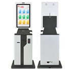 hotel auto receipt of electronic payment terminal sim coin operated card dispenser kiosk machine