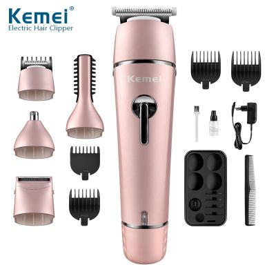 KM-1015 многофункциональный набор электромашинка для стрижки волос, гель для душа масло головки электрическая машинка для стрижки волос