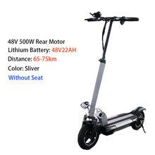 48v 500w электрический скутер для взрослых 48v 26a Высокая мощность более 100 км складной Лонгборд Ховерборд скейтборд e скутер с сиденьем(Китай)