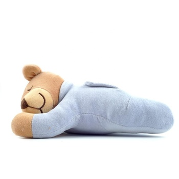 Sweet Sleeping Baby Bear Toy With Lullaby Music
