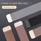 Watch Iwatch Milanese Loop 38mm 42mm Band For Apple Watch Band Metal Watch Strap Steel Luxury Watch Band For Iwatch Series 6 SE 5 4 3 2 1