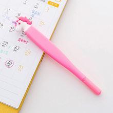 Корейская мультяшная гелевая ручка с единорогом Милая кавайная авторучка Escolar Papelaria для офиса, школы, канцелярские принадлежности, подарок(Китай)