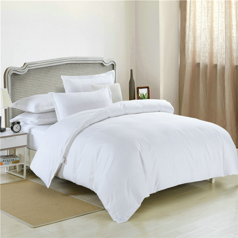 100% cotton Sateen Bed sheet for four seasons hotel comforter bedding sets