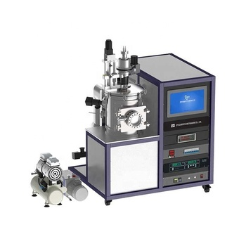 Plasma Sputtering+Evaporation Coating+Carbon Coating Multi-function Coater with High-Vacuum System