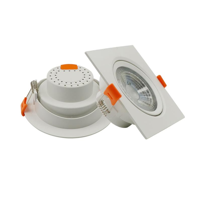 Zhongshan factory price indoor smd skd adjustable led spot down light 5w