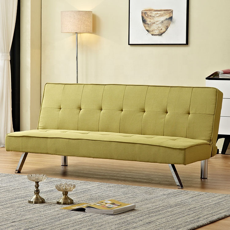 yellow colour new japan sofa bed flip seater furniture sofa convertible to bed lazy flip sofa bed