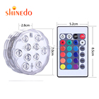 Rgb Led Led Underwater Light Waterproof IP68 RGB LED Colorful Underwater Lighting Pond Submersible Lamp For Holiday Decoration
