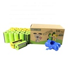 Recycle Bags Poo Bags Cornstarch Biodegradable Recycle Eco Dog Poo Bags With Dispenser