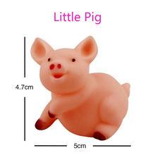 Милые игрушки для ванной животные игрушка для плавания вода красочные мягкие плавающие резиновые утки сжимаемые звук скрипучие игрушки дл...(Китай)