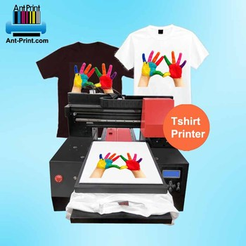 Inkjet printer factory A3 direct to garment dtg printer personalized custom t shirt printing machine