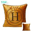 Oro Enrod Logo Personalizzato Velluto Decorazione Cuscino Per Divano