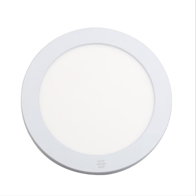 LED radar sensor panel light 18w round/square home entrance garage use
