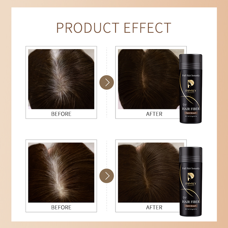 High Quality Natural Keratin Human Custom Hair Fiber