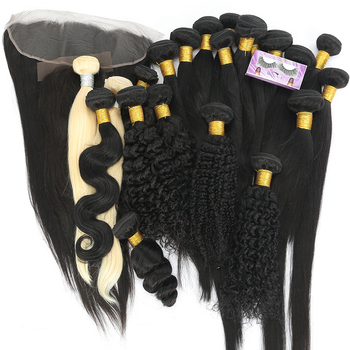 Raw Unprocessed Remy Brazilian Hair 100% Real Human Hair Bundles Brazilian Human Hair Extensions