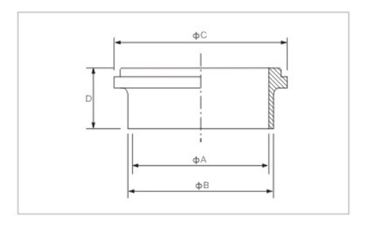 welding liner DIN SMS ISO 3A BPE IDF AS BS