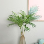 M-3032 High Quality Many Models Artificial Plastic Palm Leaves Outdoor