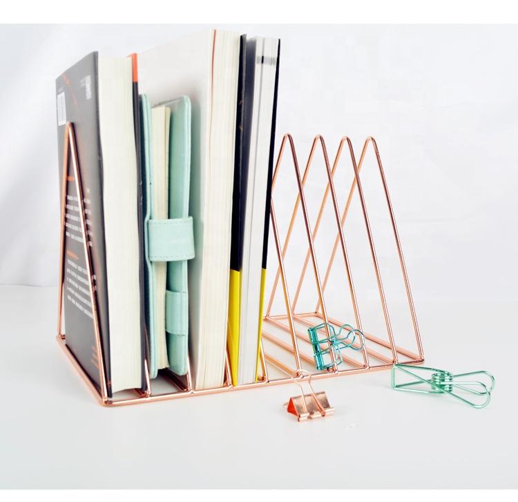 2020 Дешевые Роскошные подставки для книг для еды из нержавеющей стали держатели для файлов для дома и офиса Настольные подставки для книг размером