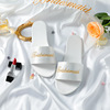 Bridesmaid slippers white
