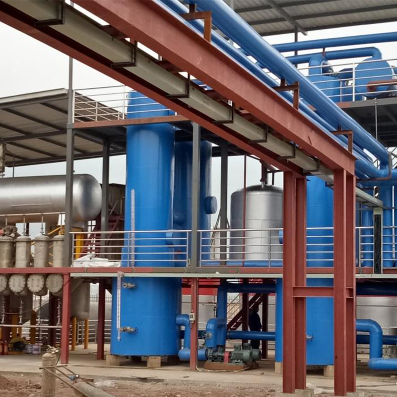 Manufacturer specializes in manufacturing distilled tire oil distillation system