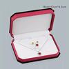 Jewelry Set Box with White Inside