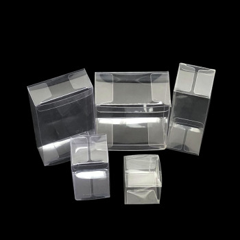 clear plastic boxes for food folding box packaging custom transparent cake container