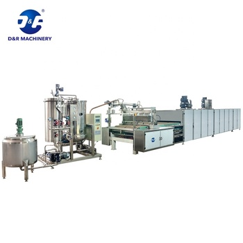 Professional Jelly Candy Making Machine Jelly Candy Production Line Servo Driven Jelly Depositing Line