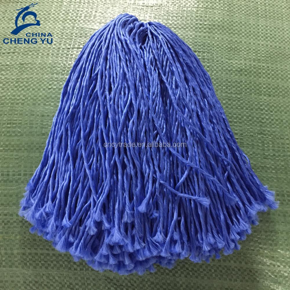 Высококачественная пряжа для швабры из микрофибры и полиэстера, пряжа для швабры
